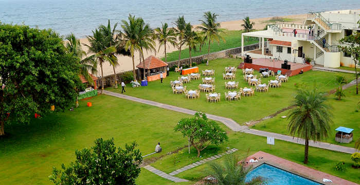 Getting married? Why not have your wedding at the French Colony, Pondicherry surrounded by lush greenary and stunning beach views