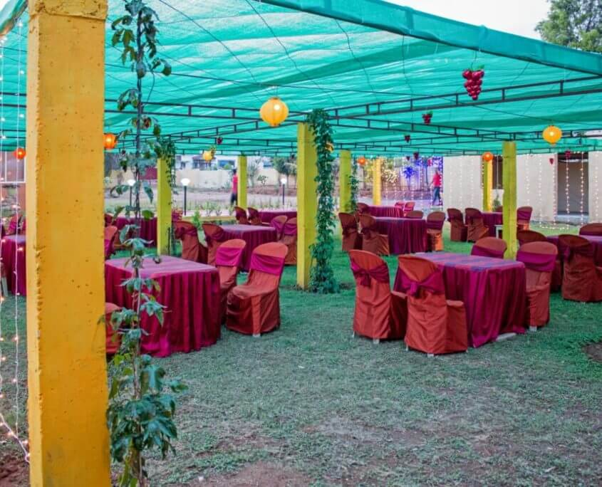 Add magic to your already magical wedding by getting married to your beloved at wedding venues near Bangalore, whether its a heritage palace or a farmhouse